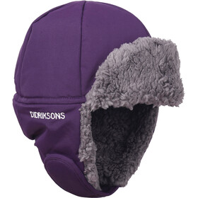 Didriksons 1913 Biggles Cap Kids Berry Purple